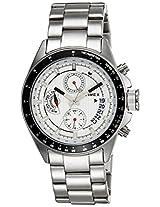 Timex E-Class Chronograph Silver Dial Men's Watch - TI000U20000