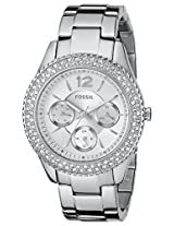 Fossil Stella Analog Silver Dial Women's Watch - ES3588