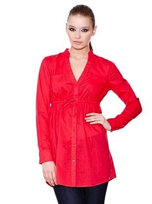 Esprit Camisa Larga (Rojo)