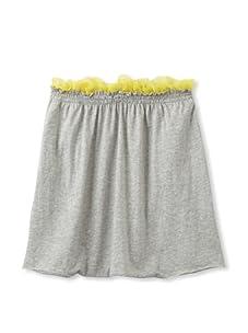 kicokids Girl's Knit Dhoti Pants (Grey)
