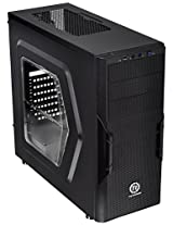 Thermaltake Versa H22 Window CA-1B3-00M1WN-00 Mid-tower Computer Chassis (Black)