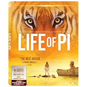 Life Of Pi (Blu Ray + DVD) (2012)