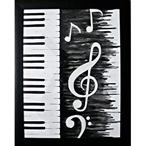 Art by Moi Musical notes Painting