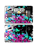 Protective Vinyl Skin Decal Cover for HTC Flyer 7 inch tablet sticker skins - Leaf Splatter
