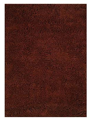 Momeni Comfort Shag Rug, Cinnabar, 5' x 7'