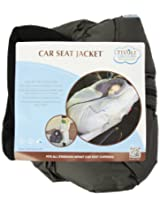 Tivoli Couture Car Seat Jacket Infant Bunting, London Gray