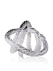 Viz Art Glass Infinity Sculpture (Clear)
