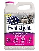Cat's Pride C47512 Fresh and Light Ultimate Care Premium Scented Multi-Cat Scoop Litter, 12-Pound Jug