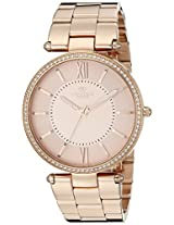 Oniss Paris Women's ON6021N-RGR Stupendo Collection Analog Display Swiss Quartz Rose Gold Watch