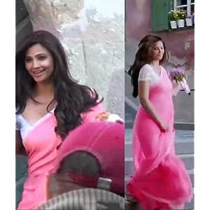 Jai Ho Bollywood Designer Saree, Pink