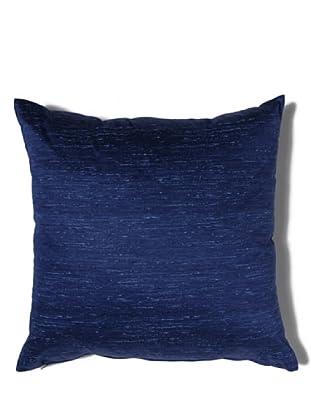 HomeTrends Cojín Finiseta (Azul Oscuro)