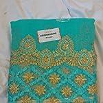 Multi Georgette Saree With blouse piece