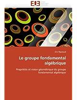 Le Groupe Fondamental Algebrique