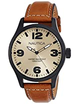 Nautica Analog Brown Dial Men's Watch - NTA13616G