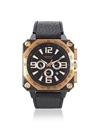 Ingersoll Men's 3204BKR Bison No. 20 Black Stainless Steel Watch