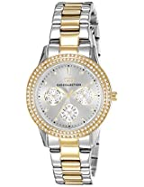 Gio Collection Analog White Dial Women's Watch - G2013-44