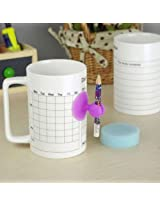 GeekGoodies Message Coffee Mug With Pen And Stand Eraser