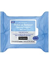 Neutrogena Makeup Remover Cleansing Towlettes Hydrating, 25 Count (Pack of 2)