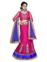 SURUPTA Appealing Pink Wedding Party Wear Lehenga Choli