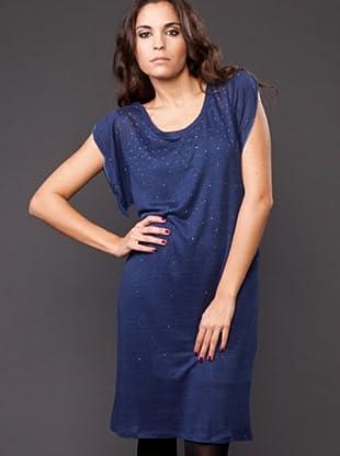 Ikks Vestido Tachuelas (Azul)