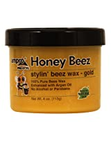 Ampro Honey Beez Wax - Gold 4 oz. (Pack of 6)