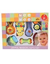 Mee Mee Musical Rattle Set, Multi Color