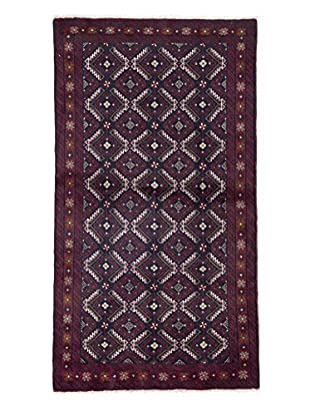 Darya Rugs Authentic Persian Rug, Red, 3' 5
