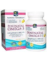 NORDIC NATURALS POSTNATAL OMEGA-3 Lemon, 60 Soft Gels