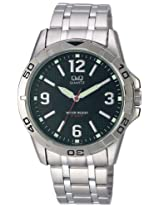 Q&Q Analog Black Dial Men's Watch - Q576N205Y