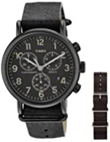 Timex Weekender Analog Black Dial Unisex Watch - TW2P622006S