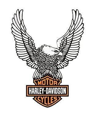ArtopWeb Panel de Madera Harley Davidson Eagle