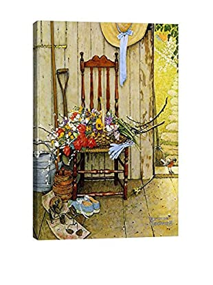 Norman Rockwell Spring Flowers Giclée Print
