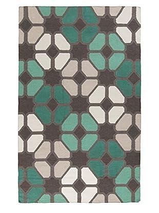 Surya Frontier Rug, Gray/Ivory/Moss, 9' x 13'