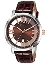 Kenneth Cole Analogue Brown Dial Men's Watch - IKC8010