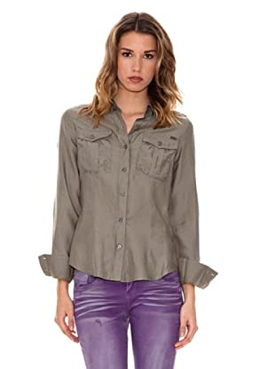 Pepe Jeans London Blusa Casual (Caqui)