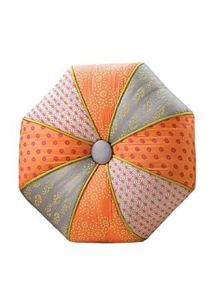 Global Views Autumn Kimono Pillow-Round