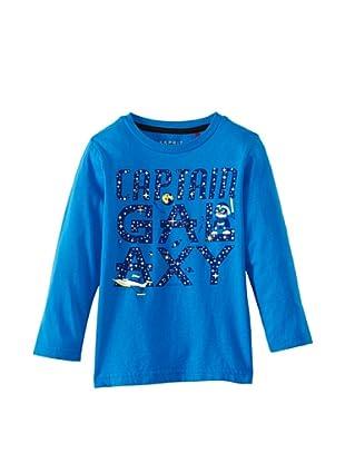 ESPRIT Camiseta 113EE8K006 (Azul)