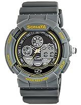 Sonata  Analog-Digital Grey Dial Men's Watch -  7997PP01J