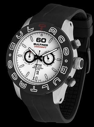Bultaco H1AM48C-CW1 - Reloj Acero Standard correa silicona blanco