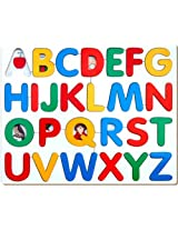Little Genius Alphabets Picture Tray (ABC), Multi Color