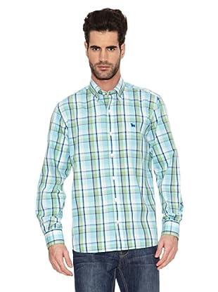 Toro Camisa Cuadros Bicolor (Azul)