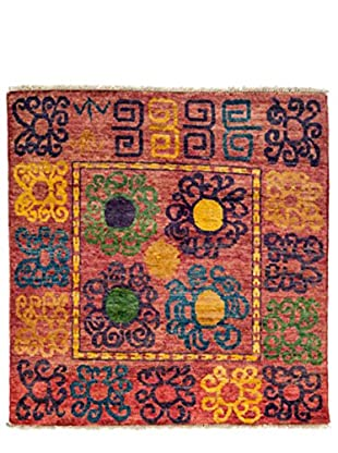 Darya Rugs One-of-a-Kind Tribal Rug, Red, 5' 1
