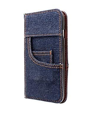 NUEBOO Hülle Jeans iPhone 6/6S blau