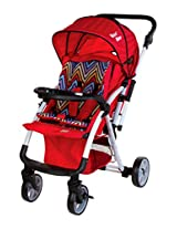 Mee Mee MM45 Baby Pram (Red)