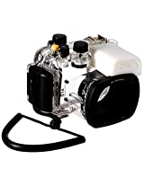 Polaroid SLR Dive Rated Waterproof Underwater Housing Case For The Canon G16 Digital Camera