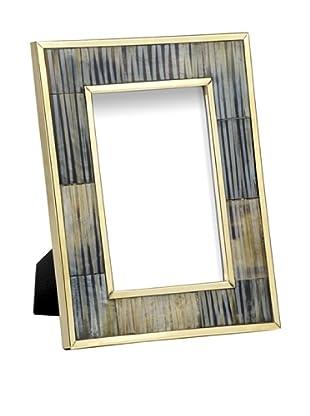 Mela Artisans Inlaid Bone Zambia Photo Frame, 4