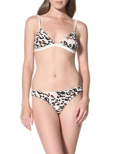 La Fee Verte Women's Silk Panty (Wildcat)