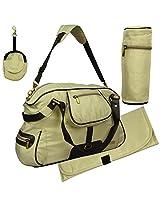 My-Milestones Diaper Bag Studio - Moss Green