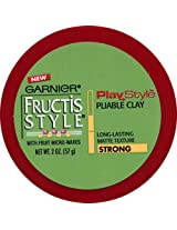 Garnier Fructis Style Play Style Pliable Clay, Strong, 2 Oz (1 Pack)