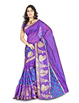 Fashion Studio Silk Saree (Bnrs69 _Purple)